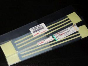 静電気放電用 アルミテープ トヨタ純正 新品 75895-28010 2枚セット