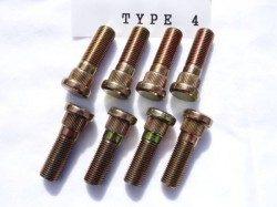 ロングハブボルト(クリップボルト) TYPE 4 オーバーサイズボルトセット 8本組