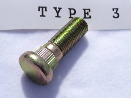 ロングハブボルト(クリップボルト) TYPE 3 標準 ノーマルボルトセット 8本組