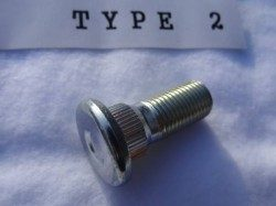 ロングハブボルト(クリップボルト) TYPE 2 標準 リヤ ノーマルボルトセット 8本組