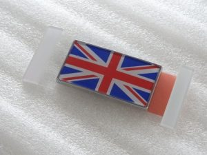 ユニオンジャック エンブレム イギリス国旗 ホンダ純正 ユーロ仕様 タイプR 流用に 送料無料