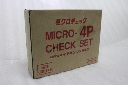 ミクロチェック NX148 4本セット シリンダーヘッドひび確認に 染色浸透探傷剤 イチネンケミカル