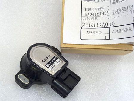 スロットルセンサー 22633KA050 アプライドA~D型 スバル DENSO