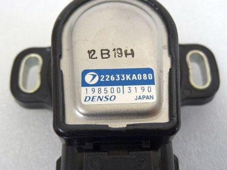 スロットルセンサー 22633KA080 アプライドE型 スバル DENSO