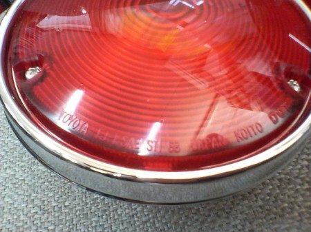 40ランクル 丸型テールランプ左右 赤 純正 FJ40ランドクルーザー