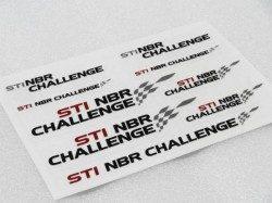 STI NBR ステッカー 転写タイプ スバル 小物等に ニュルブルクリンク