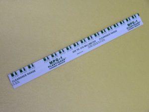 プラスチゲージ 緑 MPG-1 メタルクリアランス