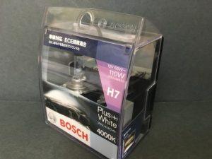 BOSCH プラス(+)ホワイト H7 12V 55W