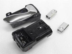 メッキ インナーハンドル ドアロックノブ セット KK3/KK4/KW3/KW4/KY3 VIVIO
