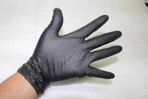 アイアングリップ 5双セット ニトリル ゴム手袋 Lサイズ 衛生・整備・機械・園芸に