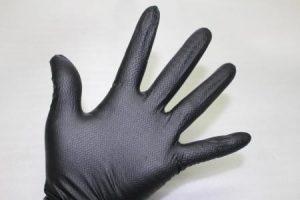 アイアングリップ 5双セット ニトリル ゴム手袋 Mサイズ 衛生・整備・機械・園芸に