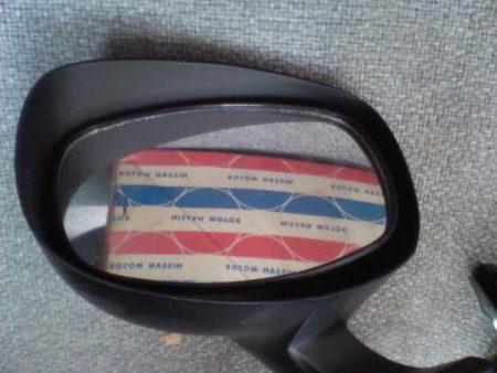 旧車 330 セドリック グロリア 【フェンダーミラー左】日産純正 当時物