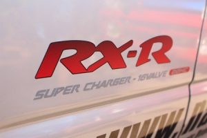 ヴィヴィオ RX-R サイドステッカー 左右セット 制作もの 白車、黒車